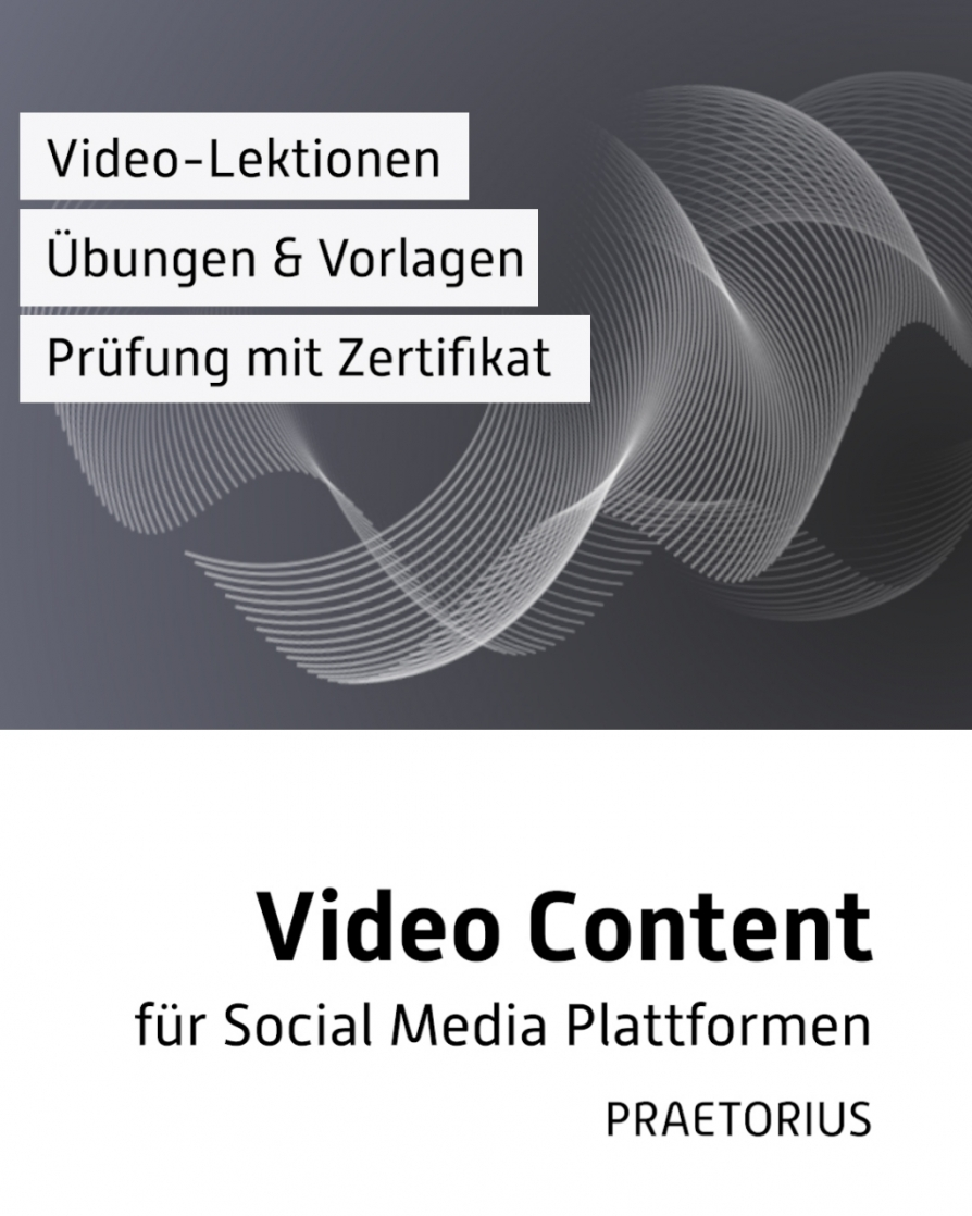 Video-Kurs: Video Content für Social Media Plattformen